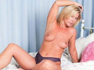 Tracey Colemam looks so sexy in purple underwear