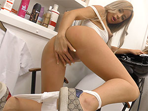 A personal appointment with fucking hot  Teleela