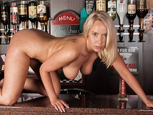 Meet Millie Fenton: your local naughty barmaid